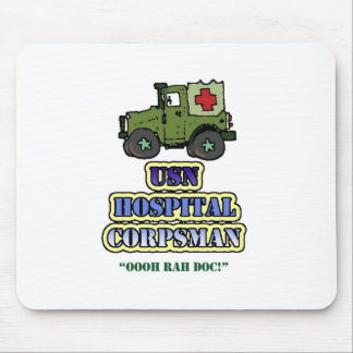Hospital Corpsman Mousepad