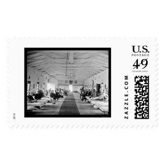 Hospital cuadrado del arsenal en Washington, DC Sellos Postales