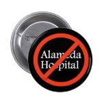 Hospital de Alameda, Alameda CA 94501 Pin Redondo De 2 Pulgadas