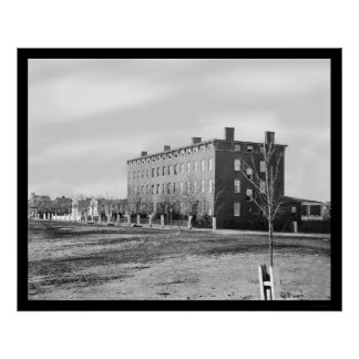 Hospital de Douglas en Washington, DC 1864 Posters