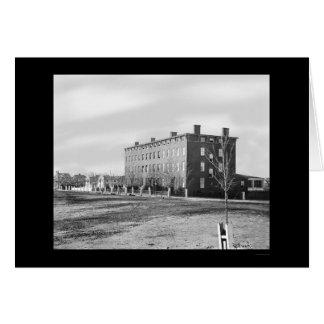 Hospital de Douglas en Washington, DC 1864 Tarjeta De Felicitación
