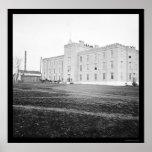 Hospital de la universidad de Nashville 1864 Poster