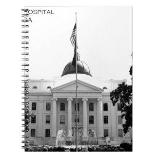 HOSPITAL ESTATAL CENTRAL - MILLEDGEVILLE, GEORGIA LIBROS DE APUNTES CON ESPIRAL