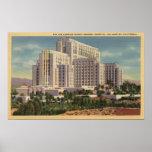 Hospital General del condado del LA Póster