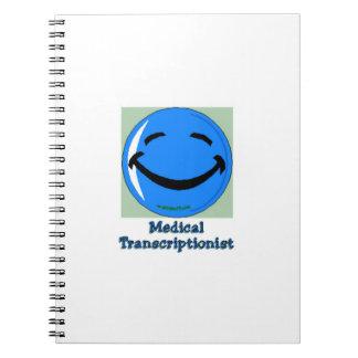 Hospital HF Medical Transcriptionist Notebook