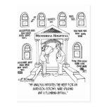 Hospital Needs An Asbestos-ectomy Postcard
