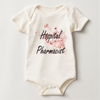 Hospital Pharmacist Artistic Job Design with Heart Creeper