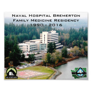 "Hospital picture 10""x8"" (photo paper) photo print"