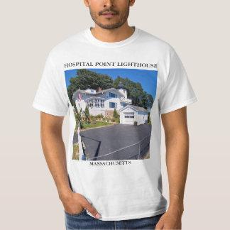Hospital Point Lighthouse, Massachusetts T-Shirt