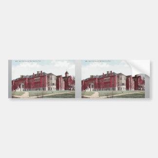 Hospital santo Salt Lake City, Utah, vintage de la Etiqueta De Parachoque