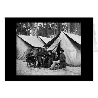 Hospital Stewards at Petersburg, VA 1864 Greeting Cards