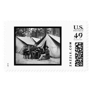 Hospital Stewards at Petersburg, VA 1864 Postage