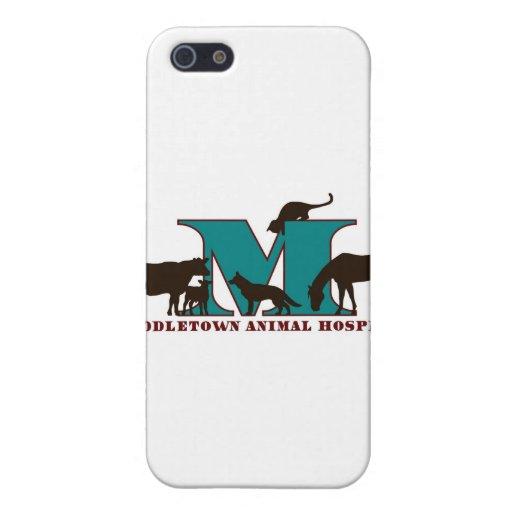 Hospital veterinario de Middletown iPhone 5 Fundas