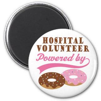 Hospital Volunteer Funny Gift Magnet