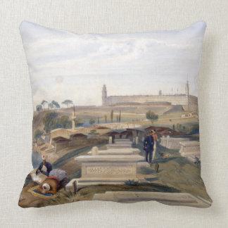 Hospital y cementerio, Scutari, placa 'del SE Cojines