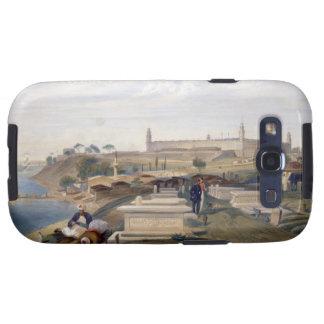 Hospital y cementerio, Scutari, placa 'del SE Galaxy S3 Cobertura