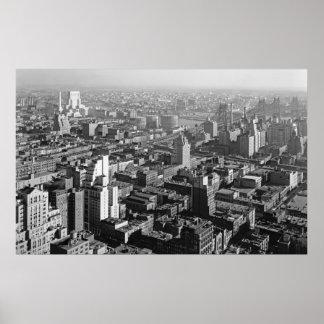 Hospital y Queens 1933 de Nueva York Impresiones