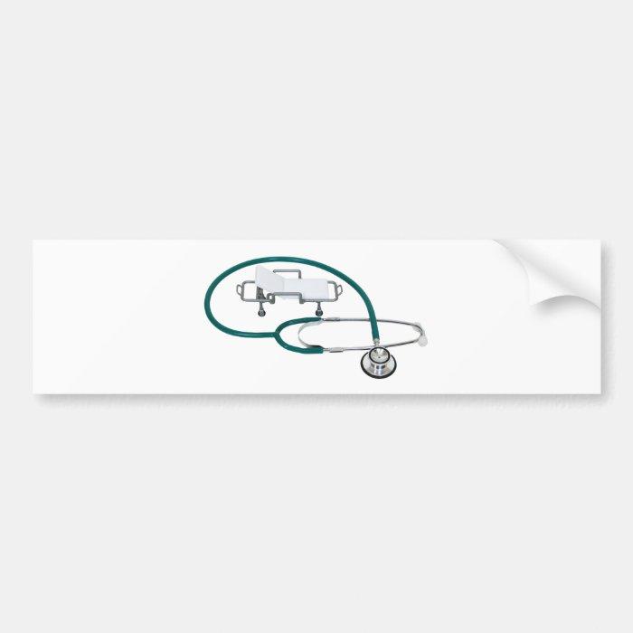 HospitalCare030609 copy Bumper Sticker