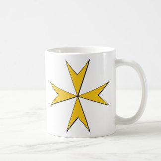Hospitalers Badge (Malta) Classic White Coffee Mug