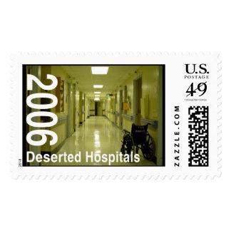 Hospitales abandonados timbres postales