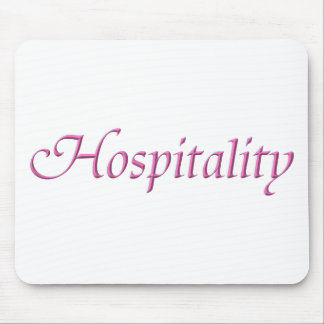 Hospitality Mouse Pad
