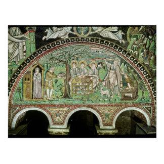 Hospitality of Abraham and the Sacrifice of Postcard