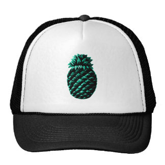 Hospitality Pineapple Cyan The MUSEUM Zazzle Gifts Trucker Hat