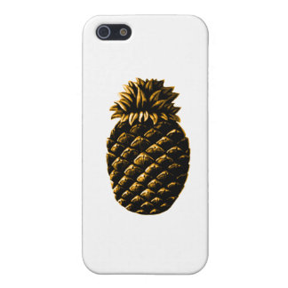 Hospitality Pineapple Gold jGibney The MUSEUM Zazz iPhone SE/5/5s Cover