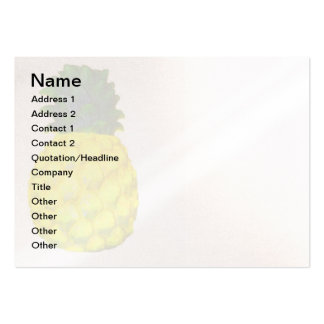 Hospitality PIneapple Large Business Card