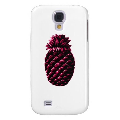 Hospitality Pineapple PURPLE The MUSEUM Zazzle Galaxy S4 Cases