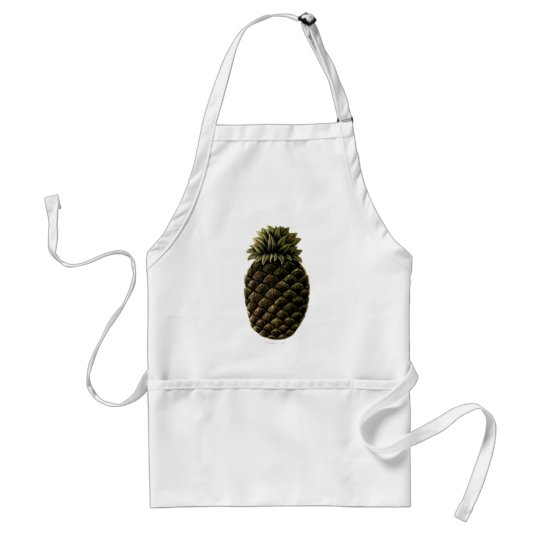 Hospitality Pineapple The MUSEUM Zazzle Gifts Adult Apron