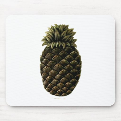 Hospitality Pineapple The MUSEUM Zazzle Gifts Mouse Pad