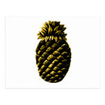 Hospitality Pineapple Yellow The MUSEUM Zazzle Gif Postcard