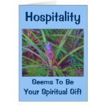 Hospitality Thank You Pineapple Cards