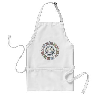 Hospitality - The Goops - Gelett Burgess Adult Apron