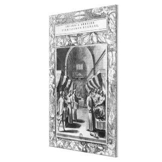Hospitallers de la orden de St. John Impresión En Lienzo Estirada