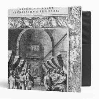 Hospitallers of the Order of St. John Vinyl Binder