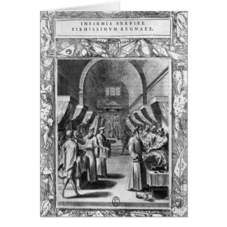 Hospitallers of the Order of St. John Greeting Card