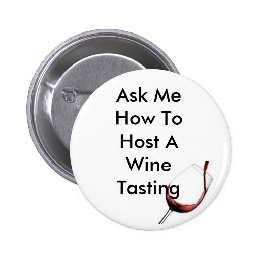 Host A Wine Tasting Button
