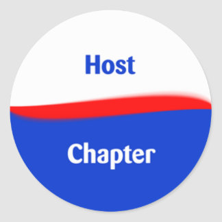 Host Chapter Classic Round Sticker