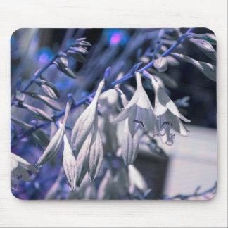 Hosta Flowers in Blue & Purple Hue - Mousepad