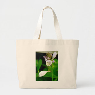 Hosta Flowers Large Tote Bag