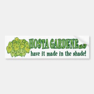 Hosta Made in the Shade Car Bumper Sticker