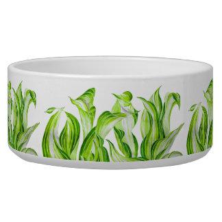 'Hosta with the mosta' on a Ceramic Salad Bowl