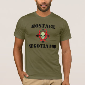 HOSTAGE NEGOTIATOR T-Shirt (For Light Shirts)