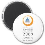 Hostelling Int Anniversary Logo Magnets