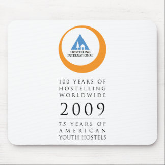 Hostelling Int Anniversary Logo Mouse Pads