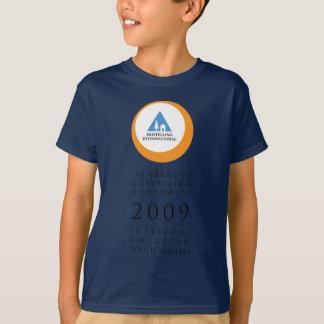 Hostelling Int Anniversary Logo T-Shirt