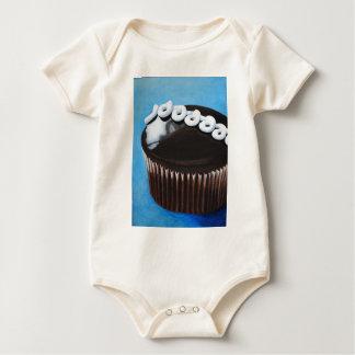 Hostess cupcake baby bodysuit