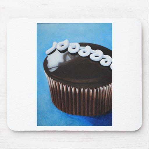 Hostess cupcake mouse pad